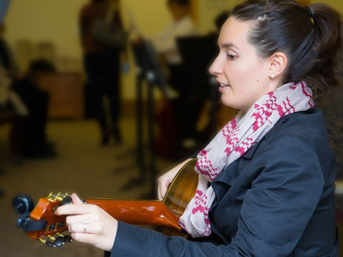 Angelica Artelt Classical Guitar Teacher